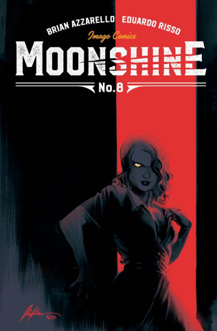 Moonshine #8 (Albuquerque Cover)