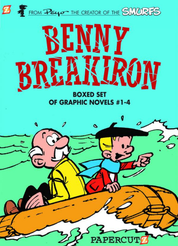 Benny Breakiron Box Set Vols. 1-4