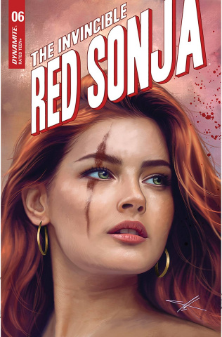 The Invincible Red Sonja #6 (10 Copy Cohen Trade Dress Cover)
