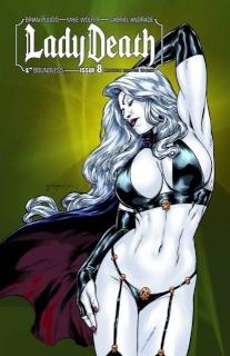 Lady Death #8 (Brickhouse Cover)