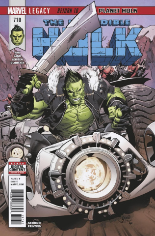 The Incredible Hulk #710 (Land 2nd Printing)