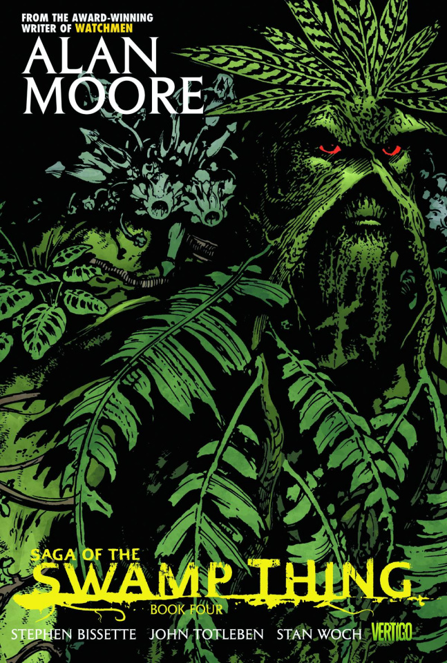 The Saga of the Swamp Thing Book 4