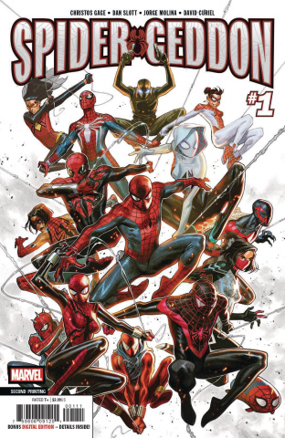 Spider-Geddon #1 (Molina 2nd Printing)
