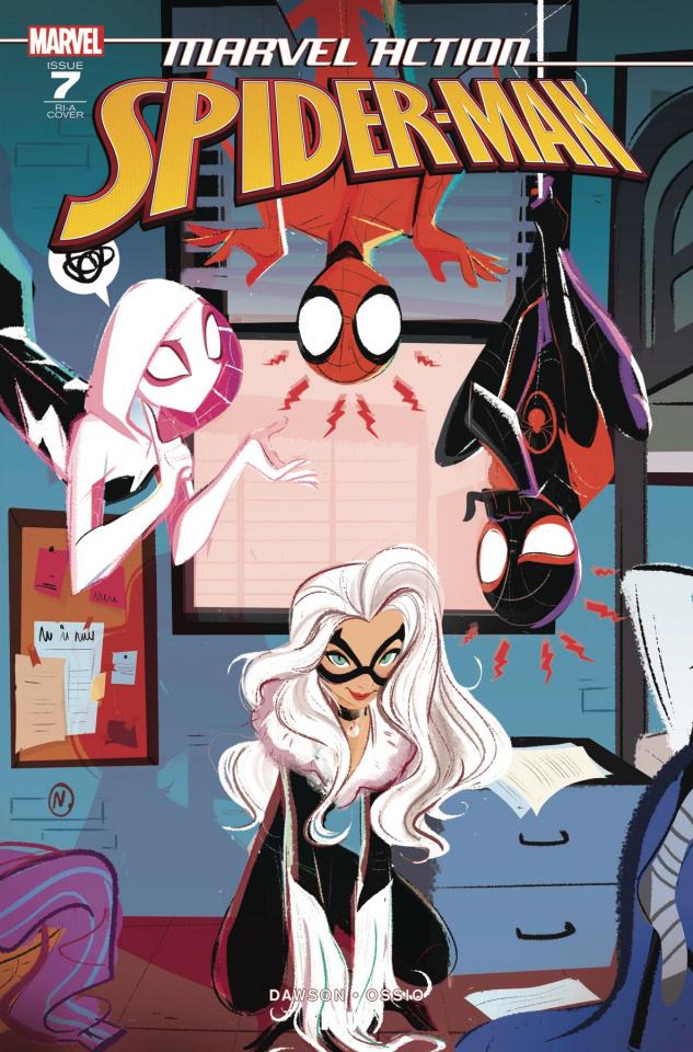 Marvel Action: Spider-Man #7 (10 Copy Baldari Cover)