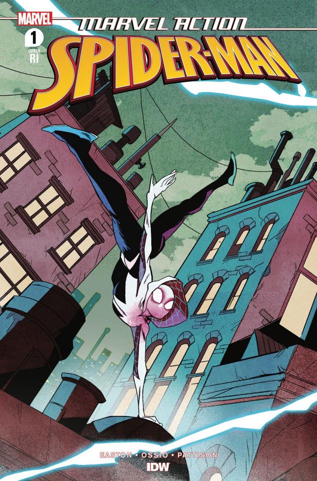 Marvel Action: Spider-Man #1 (10 Copy Greene Cover)