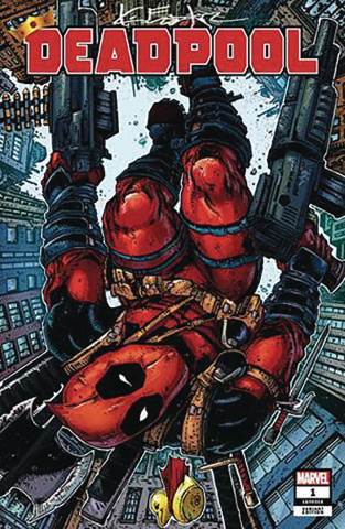 Deadpool #1 (Eastman Signed Cover)