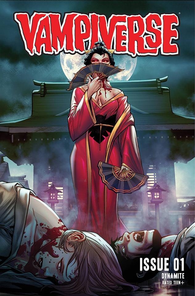 Vampiverse #1 (Segovia Cover)