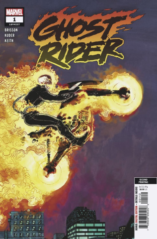 Ghost Rider #1 (Kuder 2nd Printing)
