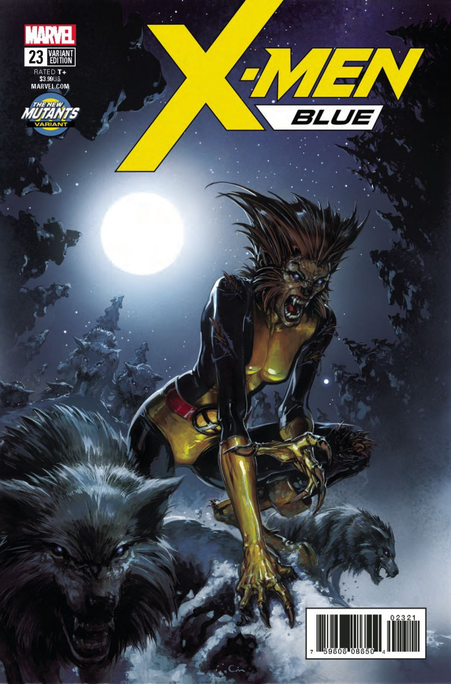 X-Men: Blue #23 (Crain New Mutants Cover)