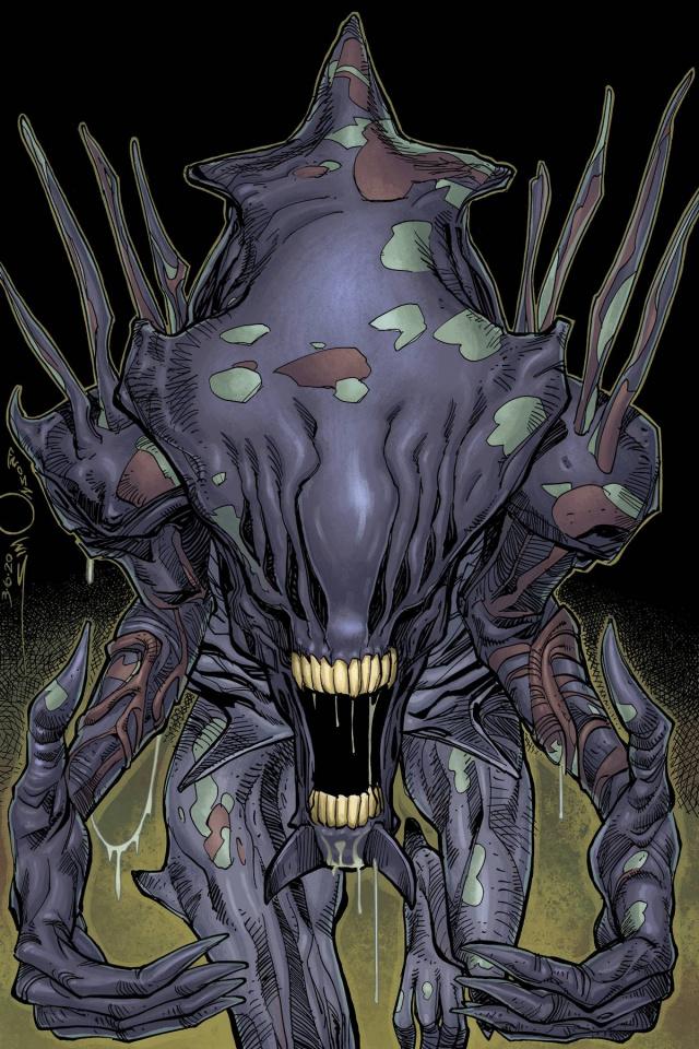 Alien: The Original Screenplay #5 (Simonson / Stewart Cover)