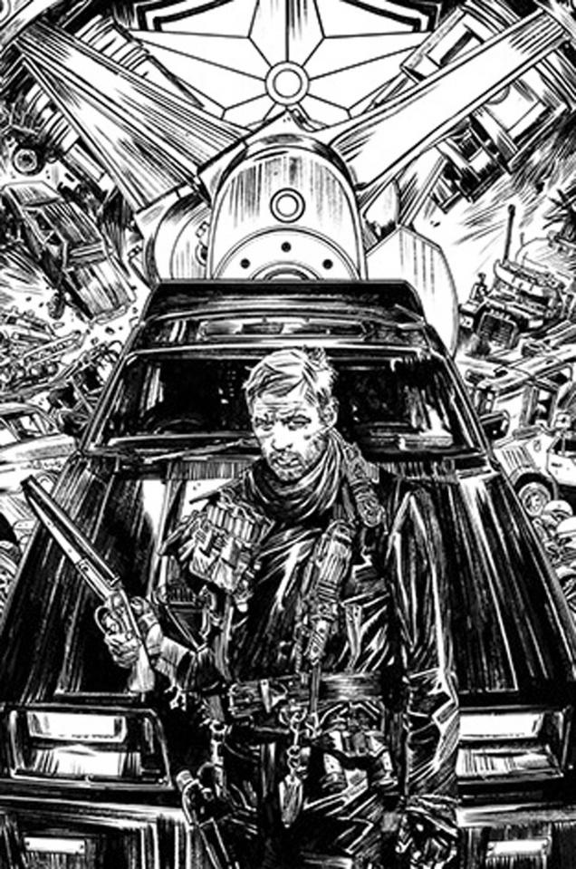 Mad Max: Fury Road Max #1 (2nd Printing)