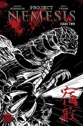 Project Nemesis #2 (Frank Cover)