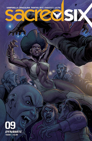 Sacred Six #9 (Roux Cover)