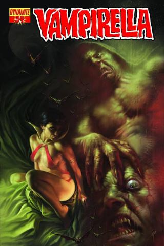 Vampirella #34 (Parrillo Cover)