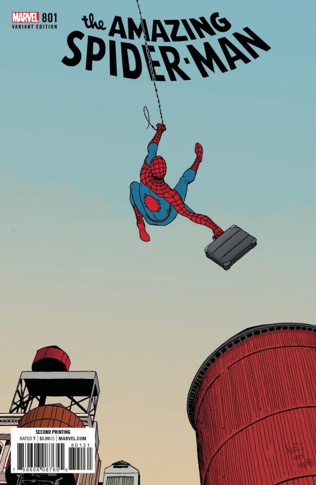 The Amazing Spider-Man #801 (Martin 2nd Printing)