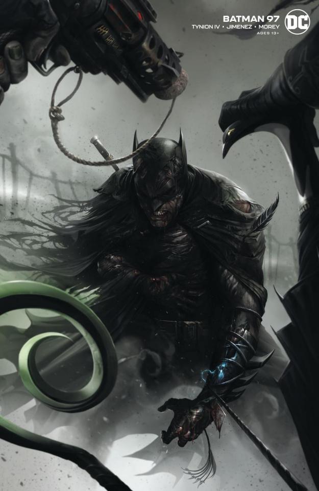 Batman #97 (Francesco Mattina Card Stock Cover)