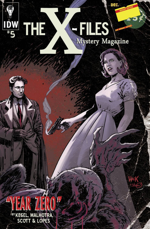 The X-Files: Year Zero #5 (Subscription Cover)