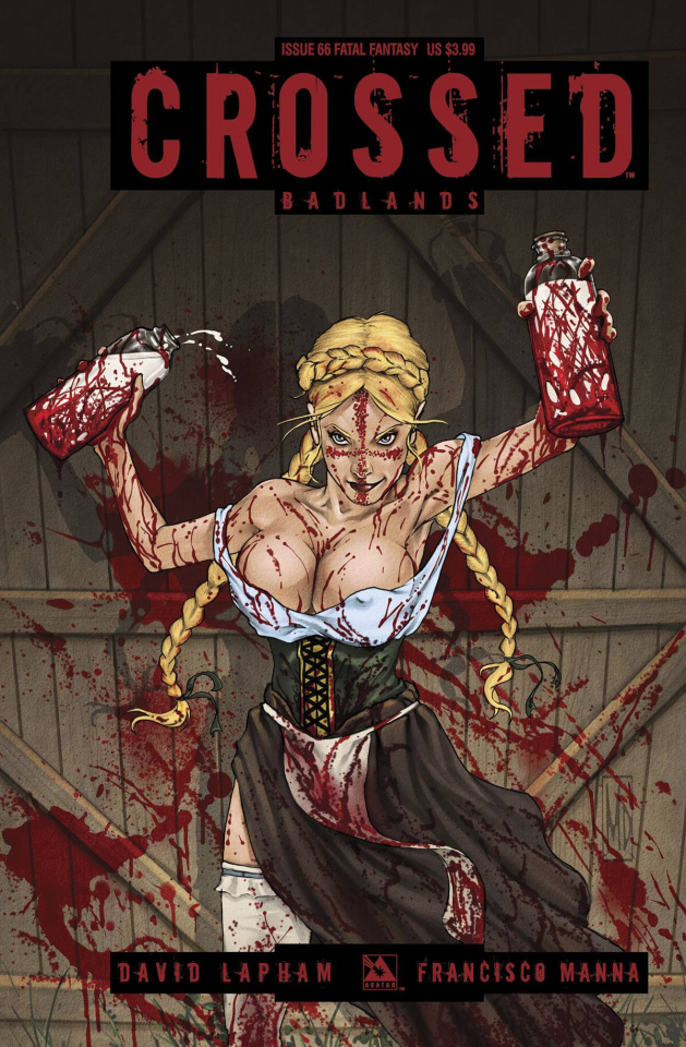 Crossed: Badlands #66 (Fatal Fantasy Cover)