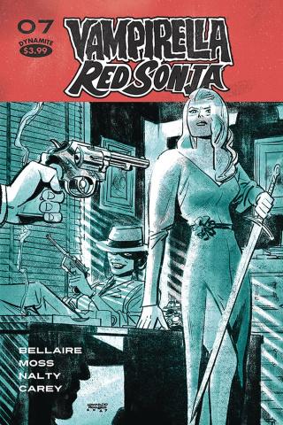 Vampirella / Red Sonja #7 (Romero Cover)