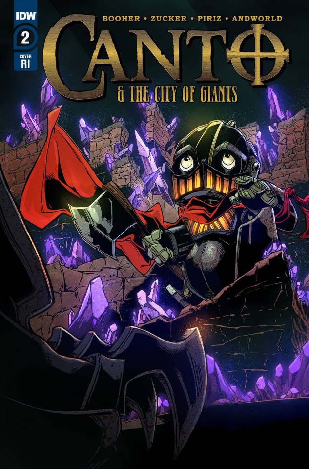 Canto and The City of Giants #2 (10 Copy Zucker Cover)