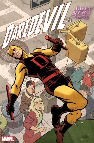Daredevil #18 (Rivera Gwen Stacy Cover)