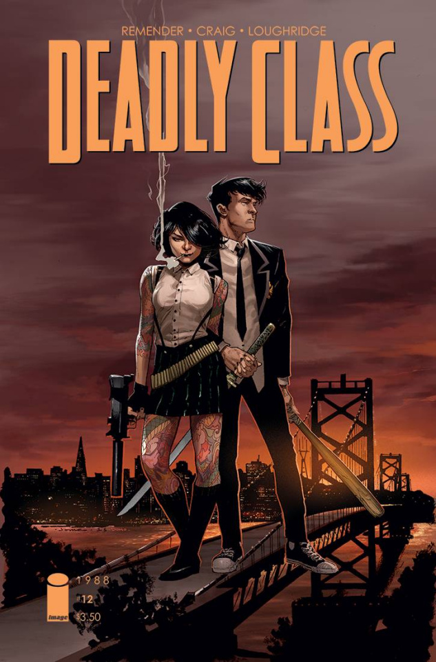 Deadly Class #12 (Opena Cover)