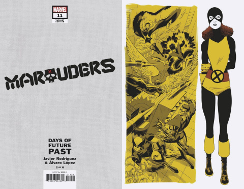Marauders #11 (Rodriguez Days of Future Past Cover)
