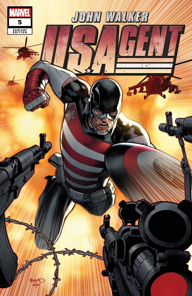 U.S.Agent #5 (Renaud Cover)