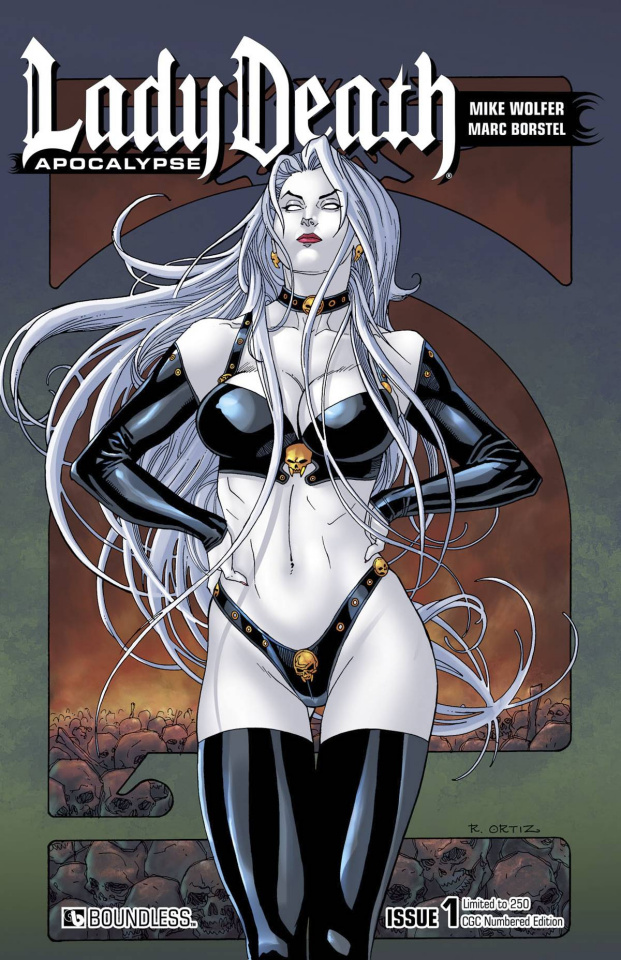 Lady Death: Apocalypse #1 (CGC Numbered Edition)