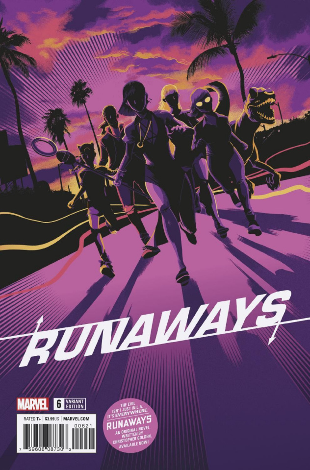 Runaways #6 (Taylor Cover)