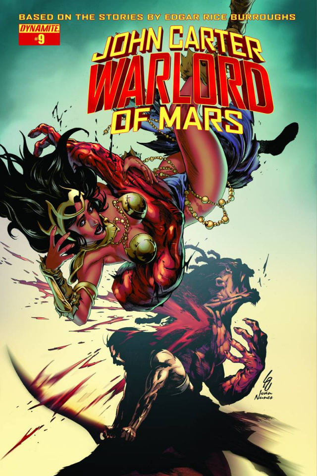 John Carter: Warlord of Mars #9 (Subscription Cover)