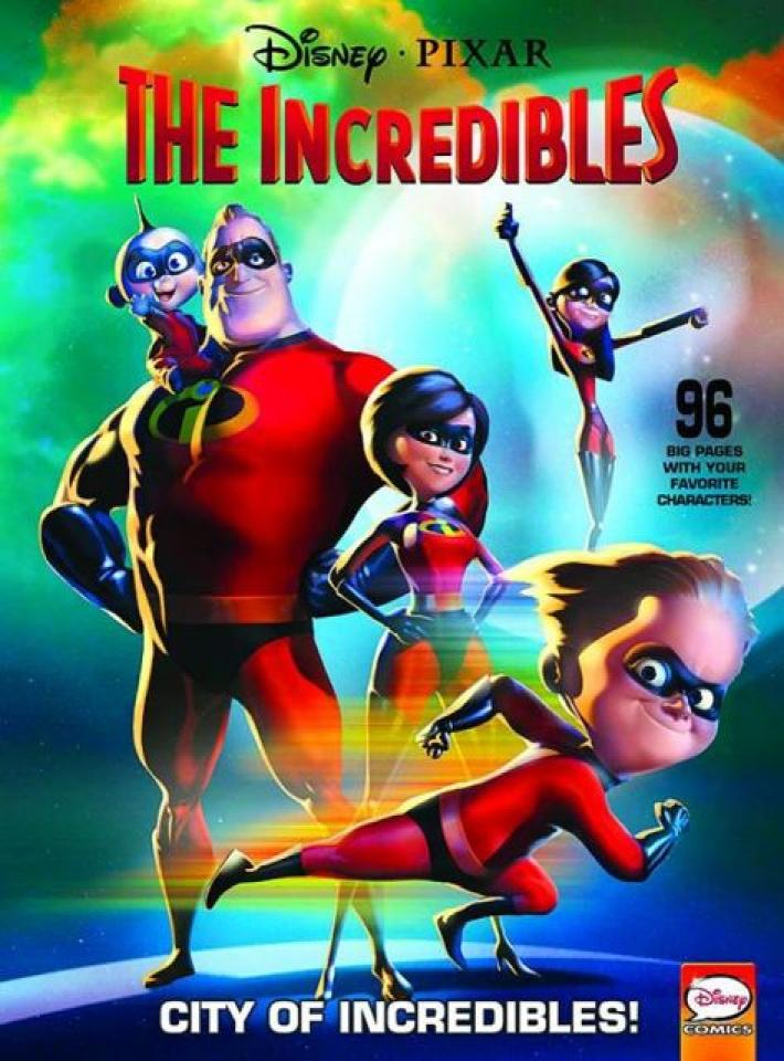 Disney Pixar Presents: The Incredibles - City of Incredibles!