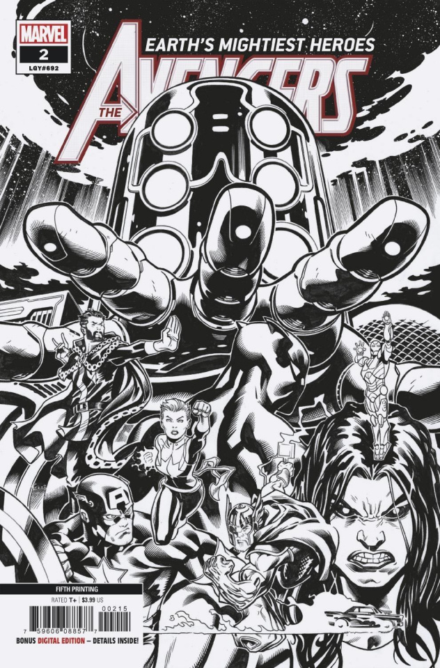 Avengers #2 (McGuinness 5th Printing)