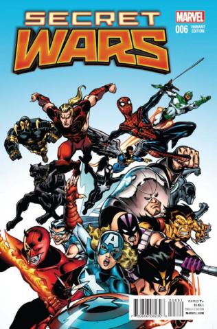 Secret Wars #6 (Classic Cover)