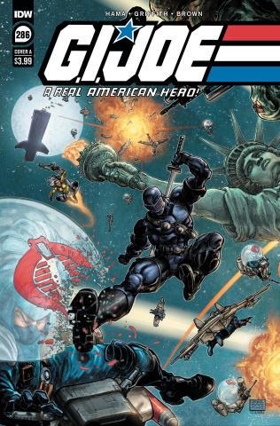 G.I. Joe: A Real American Hero #286 (Williams II Cover)