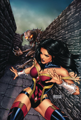 Grimm Fairy Tales #27 (Goh Cover)