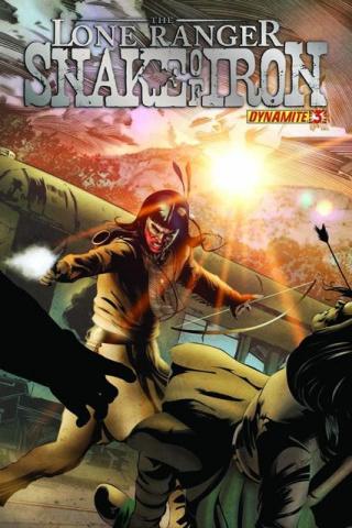 The Lone Ranger: Snake of Iron #3