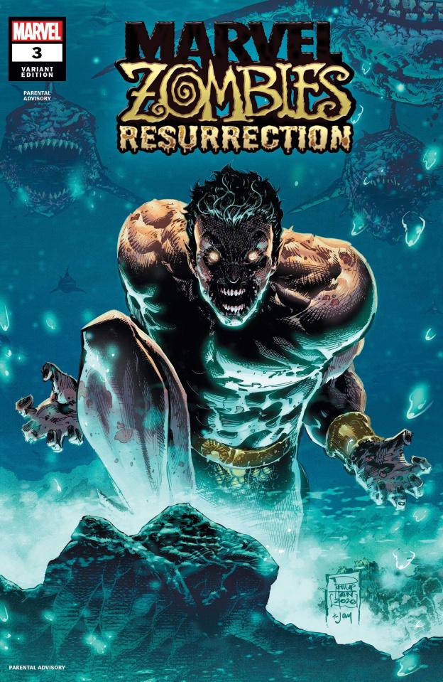 Marvel Zombies: Resurrection #3 (Tan Cover)