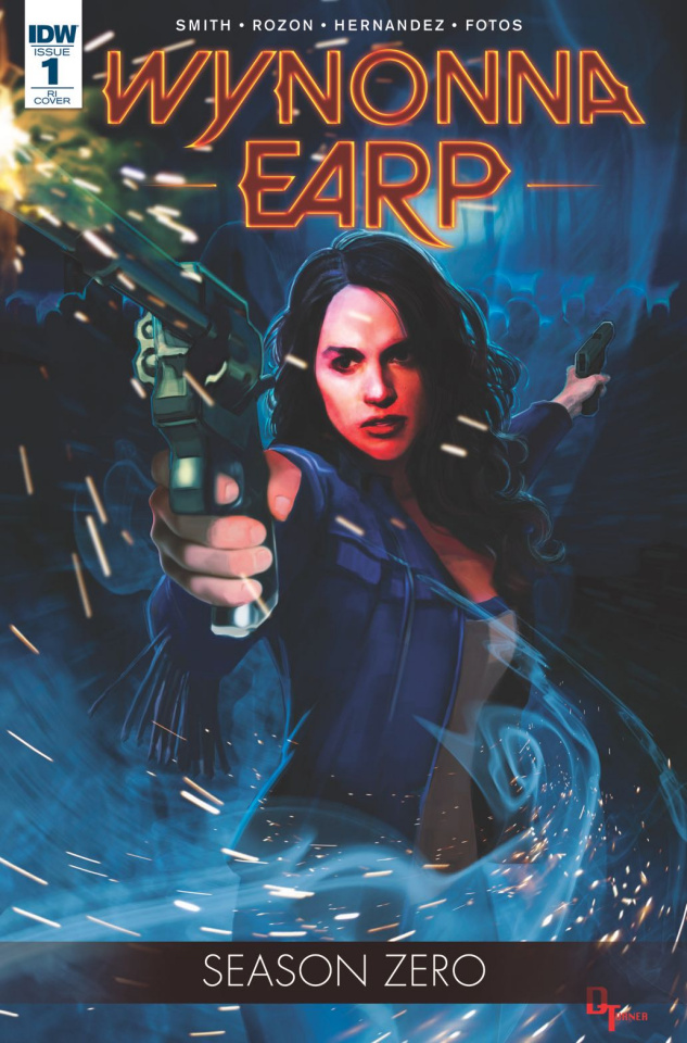 Wynonna Earp, Season Zero #1 (10 Copy Cover)