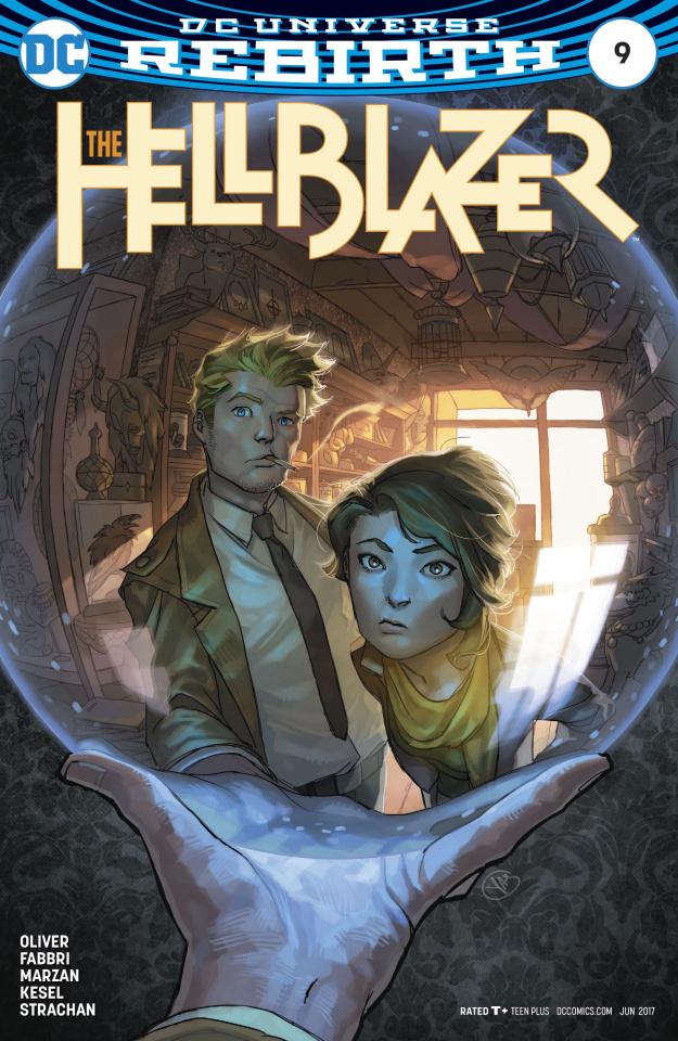 Hellblazer #9 (Variant Cover)