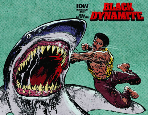 Black Dynamite #1 (Subscription Cover)
