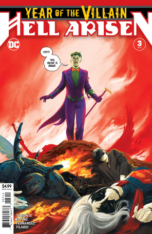 Year of the Villain: Hell Arisen #3 (2nd Printing)