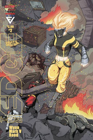 The Edge #2 (Mark V Cover)