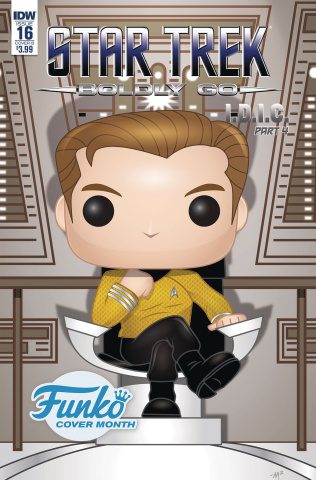 Star Trek: Boldly Go #16 (Funko Martin Cover)