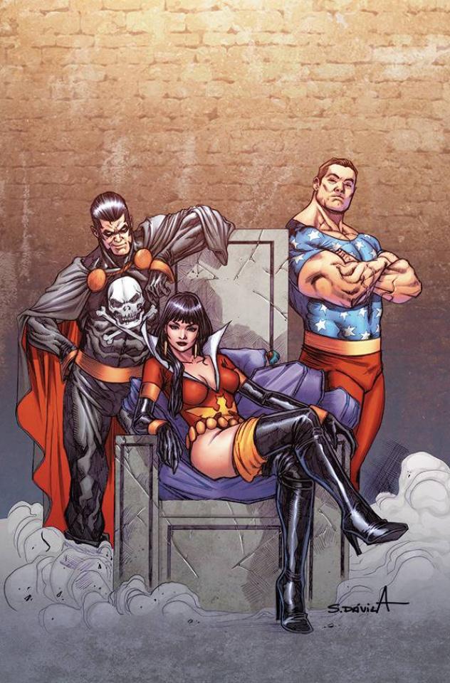 Vampirella: The Dark Powers #5 (25 Copy Davila Virgin Cover)