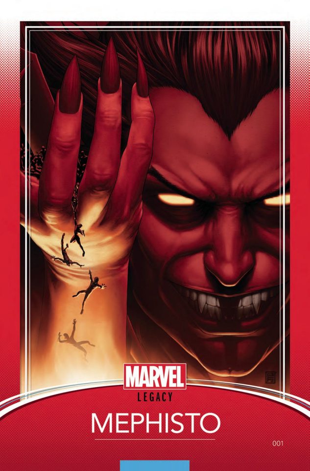 Doctor Strange: Damnation #1 (Christopher Trading Card Cover)