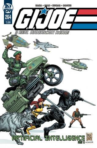 G.I. Joe: A Real American Hero #264 (Fraga Cover)