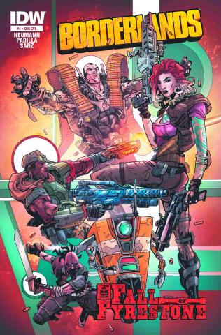 Borderlands: The Fall of Fyrestone #4 (Subscription Cover)