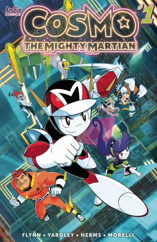 Cosmo: The Mighty Martian #1 (Spaziante Cover)