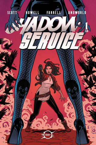 Shadow Service #1 (Isaacs Cover)